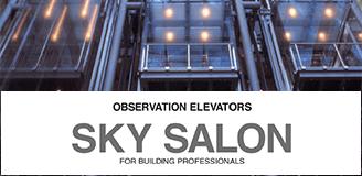 Thang máy quan sát SKY SALON